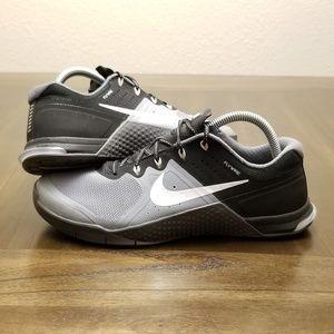 Nike Metcon 2 Black Grey Size 10 White